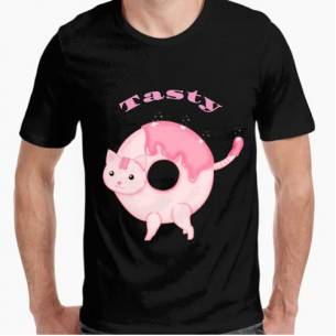 donuts Cat-Camisetas...