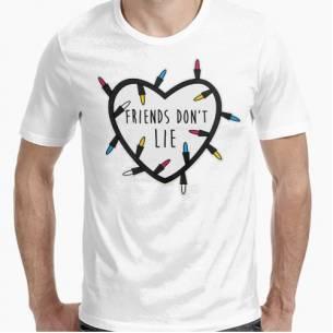 camiseta  don't lie...