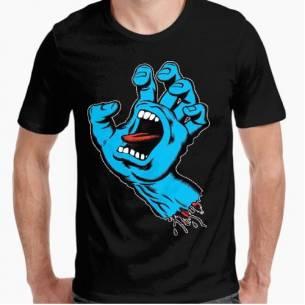 Camiseta Mano Gritona