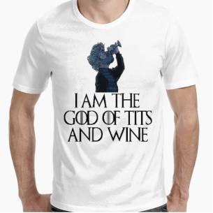 Camiseta Dios del vino y...