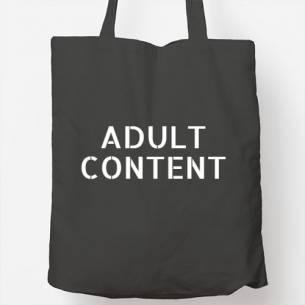 bolsa tote bag adult content