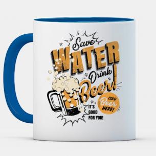 Ahorra agua, bebe cerveza