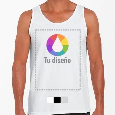 Camiseta Tirantes personalizada