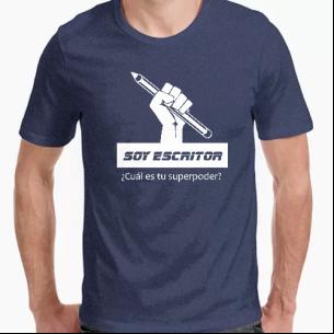 Camiseta Soy escritor:...