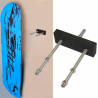 Colgador skateboard personalizado