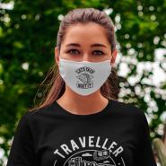 Mascarillas personalizadas de tela (Cara de Mujer)