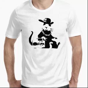 """Camiseta """" NY Rata Old School"""