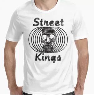 Camiseta Street King Skull...