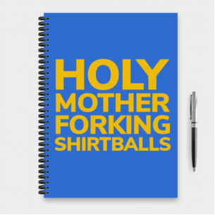 Cuaderno Holy Mother... (The Good Place)