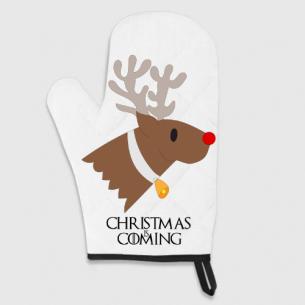 Guante De Cocina Christmas Is Coming (Game Of Thrones)