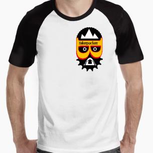 Camiseta bicolor BIKEPACKER 2021