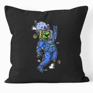 Astronauta contento