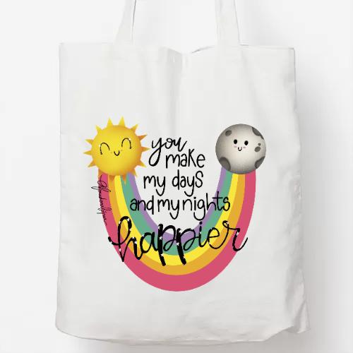 Bolsa diseño Happy Rainbow