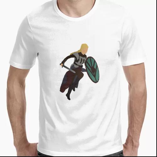 Camiseta Minimalista Lagertha Vikings [Vikingos]