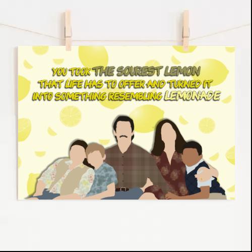 Poster This Is Us Lemons & Lemonade