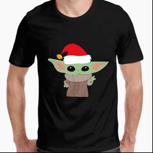 Camiseta Baby Yoda Navidad (The Mandalorian)