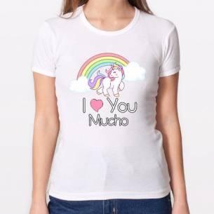 I love you unicornio