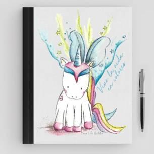 Cuarderno Unicornio