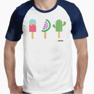 camiseta helados